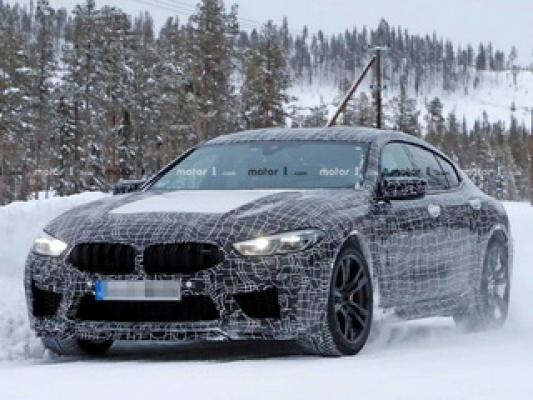 BMW M8 Gran Coupe продолжает тестирование в Швеции