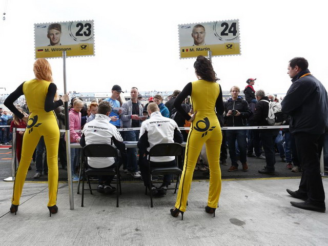 DTM Grid Girls 2014